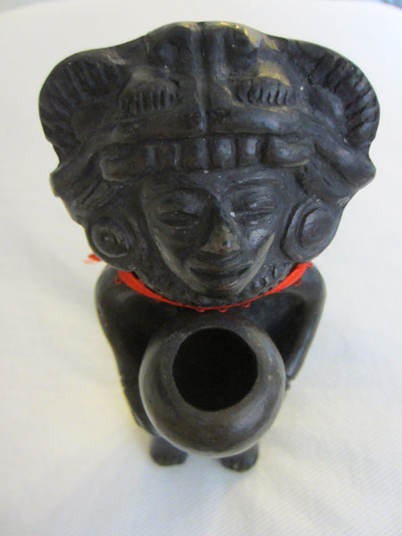 Composition Tribal Figurative Portrait Art Candle Holder - Designer Unique Finds   - 3