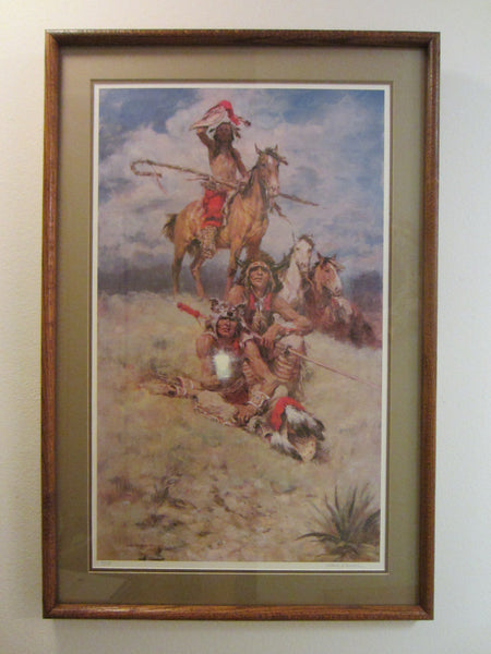 Charles Winfield Miller Western Lithograph Limited Edition Artist Biography - Designer Unique Finds   - 3