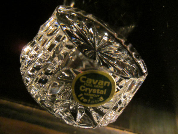 Cavan Hand Cut Crystal Paperweight Made in Ireland