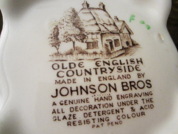 Olde English Countryside By Johnson Bros Hand Engraving Teapot - Designer Unique Finds   - 3