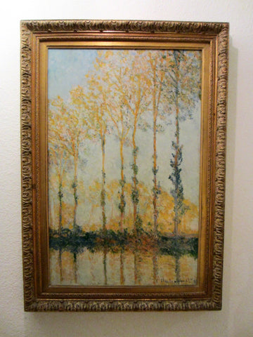 Claude Monet Impressionist Landscape Print Repligraph Panel Art - Designer Unique Finds   - 3