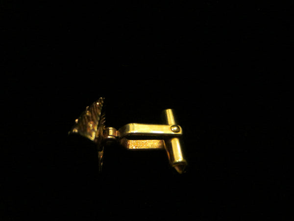 Christian Dior Golden Nuggets Cuff Links Tie Tack - Designer Unique Finds   - 4
