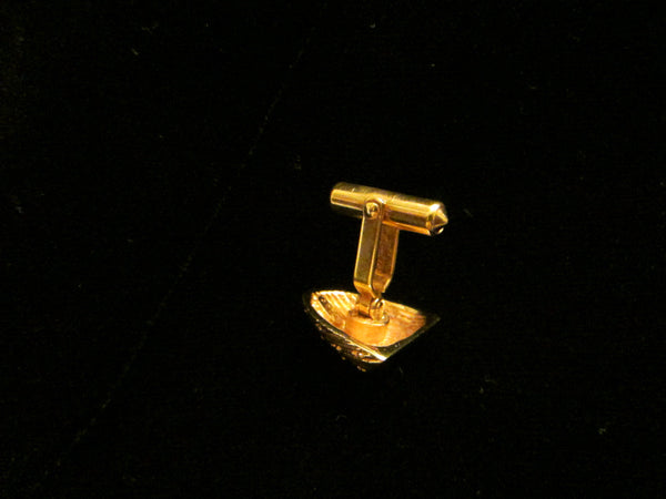 Christian Dior Golden Nuggets Cuff Links Tie Tack - Designer Unique Finds   - 7
