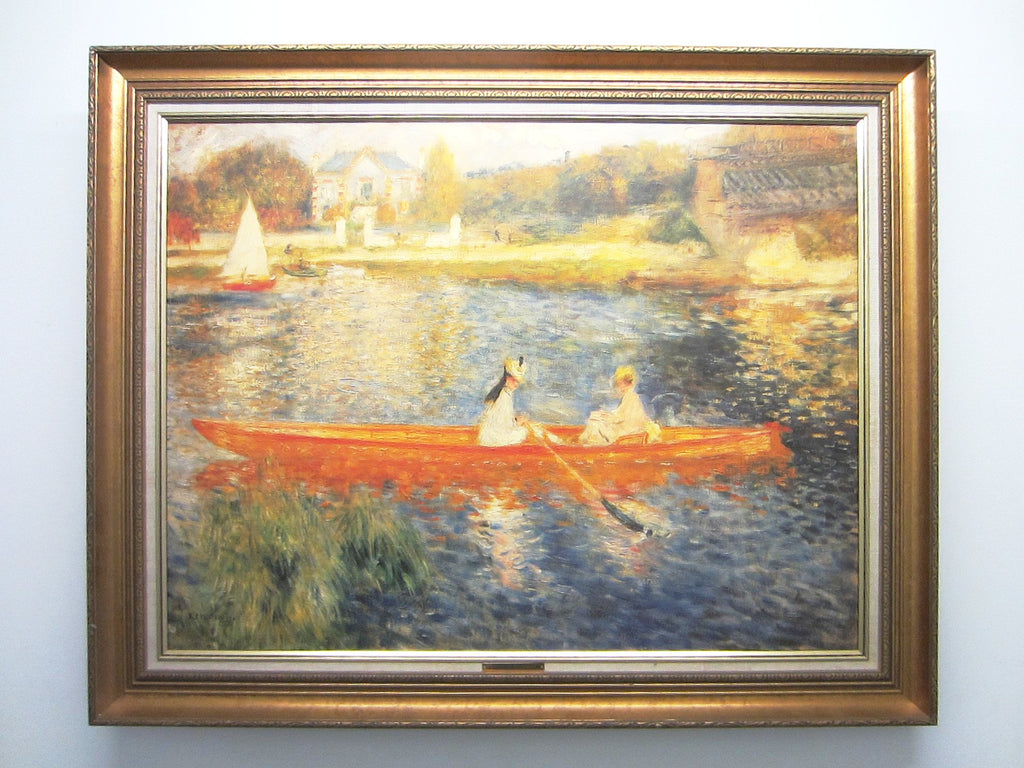 Pierre Auguste Renoir Rendering Impressionist Seascape - Designer Unique Finds