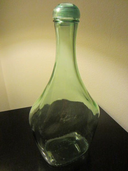 Paul Masson Vineyards Saratoga Glass Wine Decanter Apothecary - Designer Unique Finds   - 3