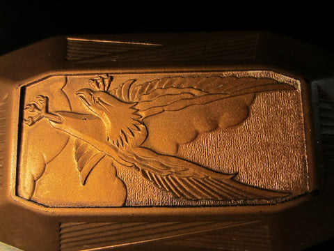 Art Deco Elgin Patented Watch Case Eagle Relief Marked Numbered - Designer Unique Finds   - 1