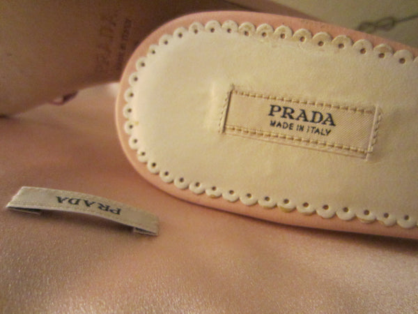 Prada Milan Pink Sandals Nieman Marcus 95th Anniversary Exclusive - Designer Unique Finds