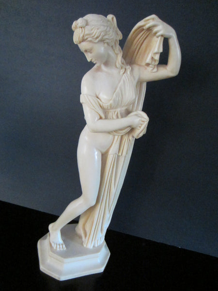 A Santini Classic Figure Sculptor Made In Italy Signed By