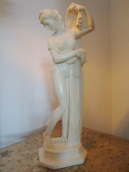 A Santini  Italian Sculpture Made In Florence Italy Signed Labeled - Designer Unique Finds