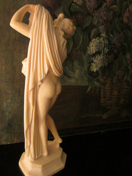 Classic Figure Sculptor A Santini Made In Italy - Designer Unique Finds   - 6