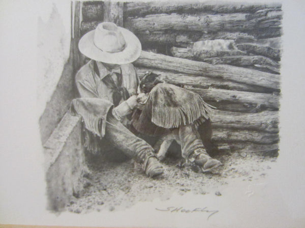 Robert Shoofly Shoflet Animated Western Signed Drawings - Designer Unique Finds   - 7