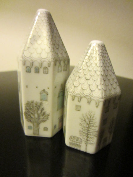 Rosenthal Studio Linie Porcelain Figurative Salt Pepper Shaker - Designer Unique Finds