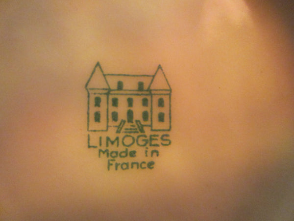 A Limoges Romantic Porcelain Plate Enameled Decorated Signed Fragonard - Designer Unique Finds   - 4
