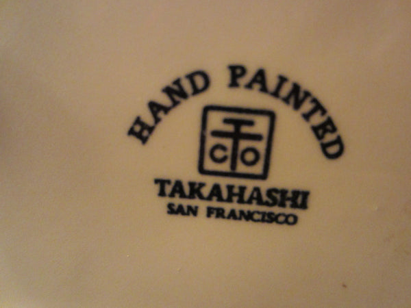 Takahashi Japan Hand Painted San Francisco Figurative Porcelain Box - Designer Unique Finds   - 2