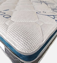 Load image into Gallery viewer, Bamboo Navy Blue Euro Top Mattress