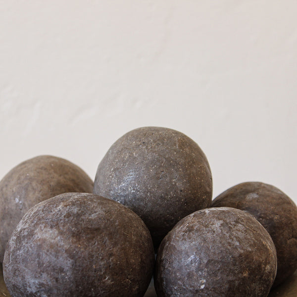 Small Soap Ball Black Clay Sea Scrub