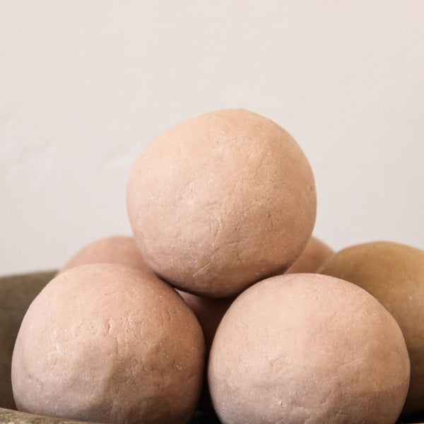 Large Soap Ball Pink Clay Geranium