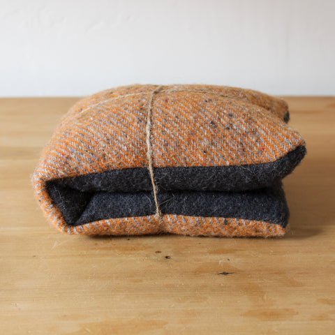 Merino Wool Heat Pack Orange Charcoal Lavender