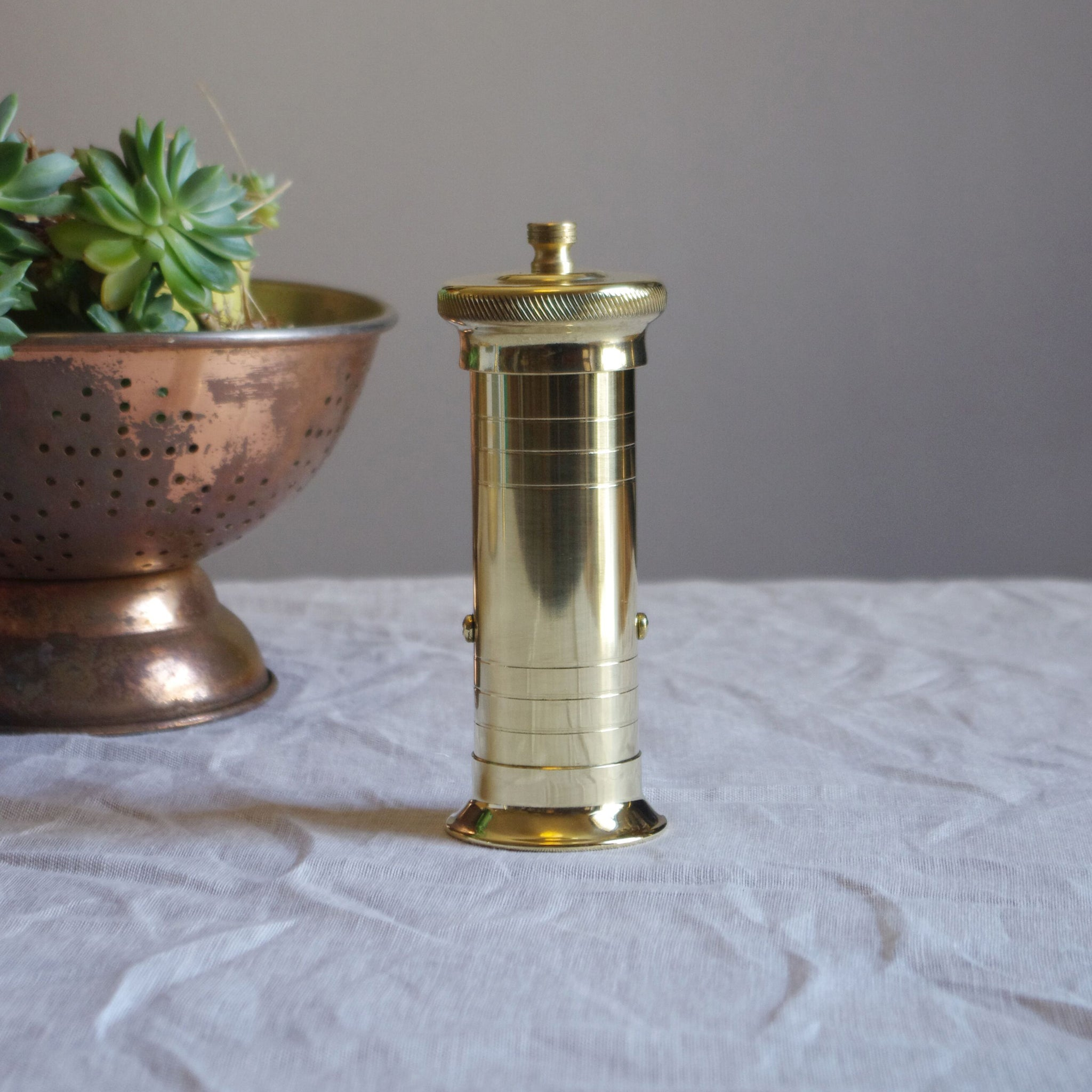Chef's Brass Pepper Mill 502