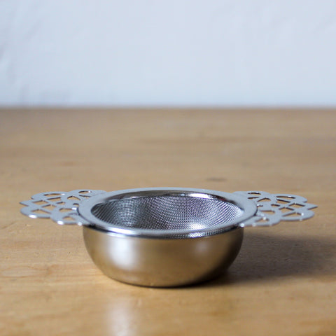 Tea Strainer with Drip Tray