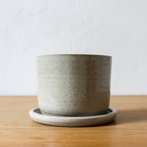 Pottery Plant Pot Wholemeal Small