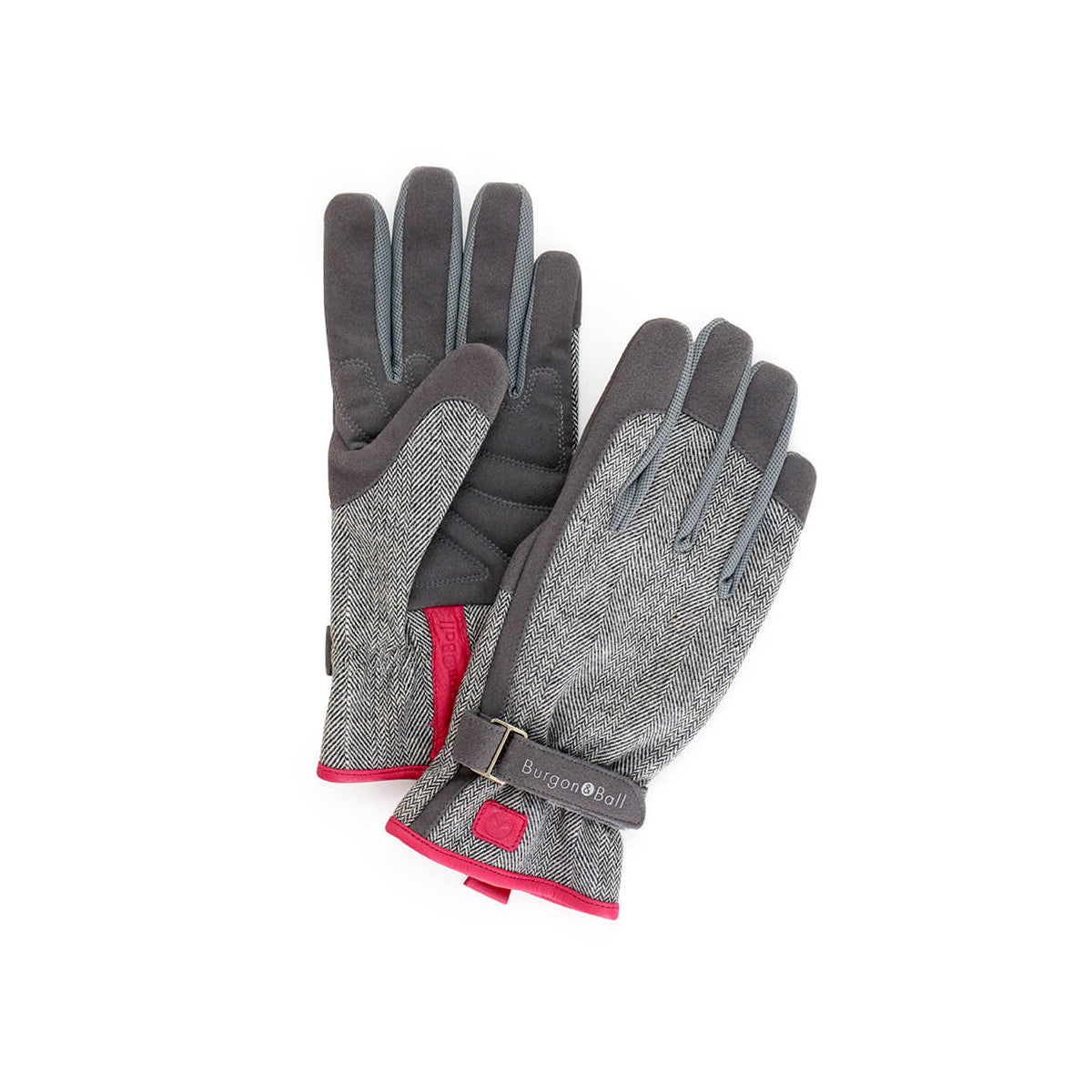 Love The Glove Grey Tweed S/M