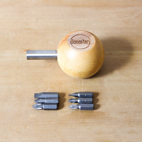 No.2 Screwdriver Sets (Small Handle + 6 Bits)