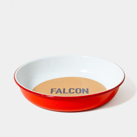 Enamel Medium Salad Bowl Pillarbox Red