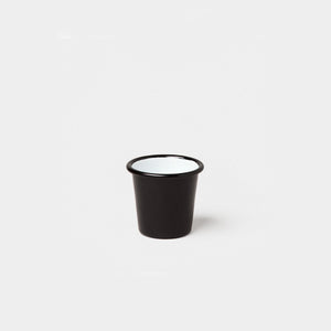Enamel Mini Tumbler Coal Black