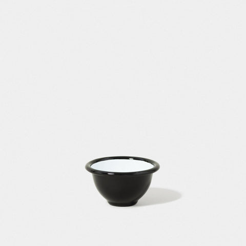 Enamel Pinch Pot Coal Black