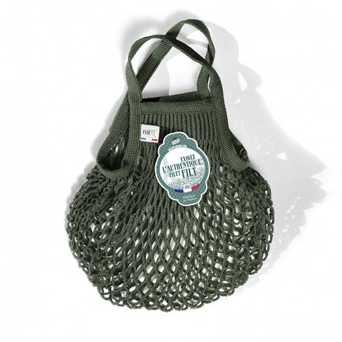 French String Bag Petit Kaki