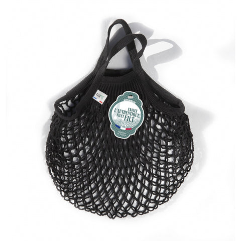 French String Bag Petit Noir