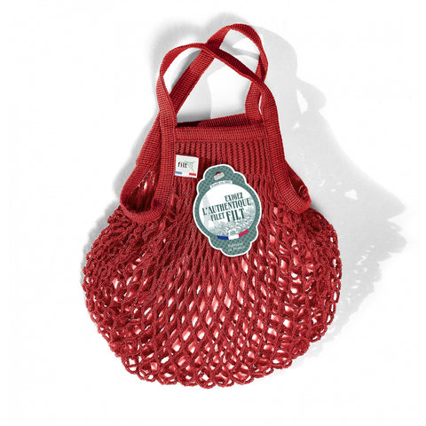 French String Bag Petit Rouge