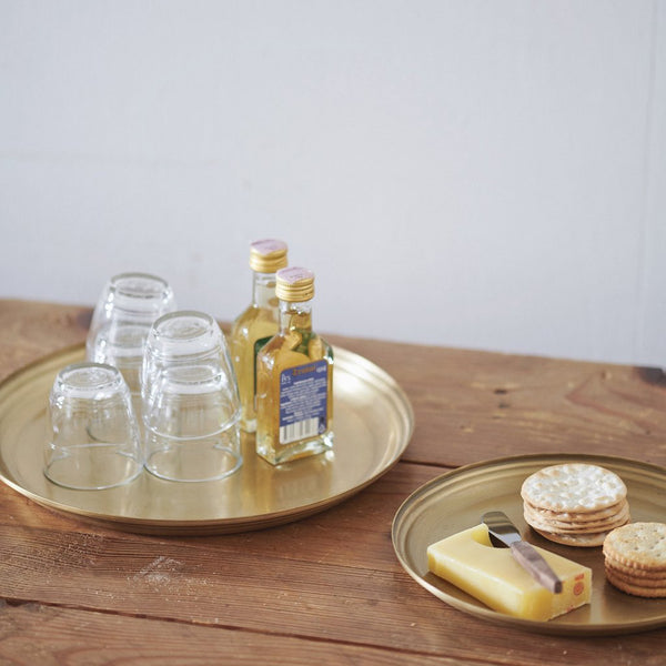 Brass Serving Tray Medium