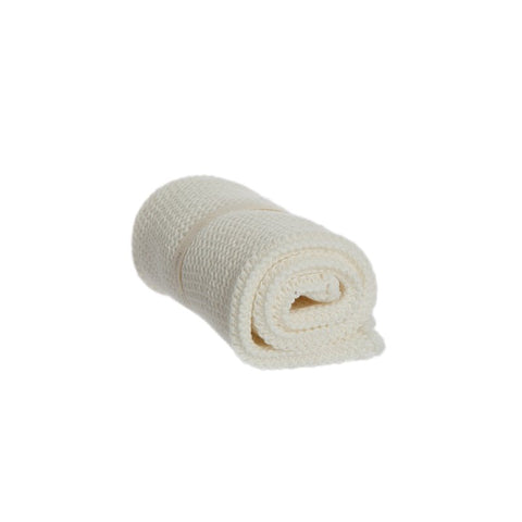 Knitted Body Wash Cloth White