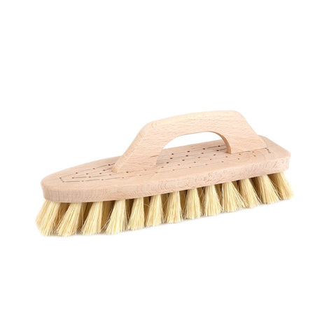 Scrubbing Brush with Handle Beech Tampico
