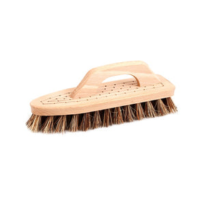 Scrubbing Brush with Handle Beech Union Blend