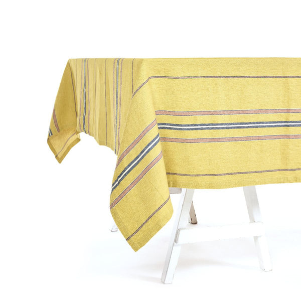 Patio Stripe Tablecloth 175cm x 325cm Stripe