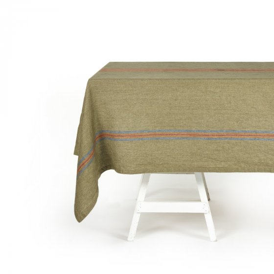 St Jacob's Stripe Tablecloth 175cm x 325cm Stripe