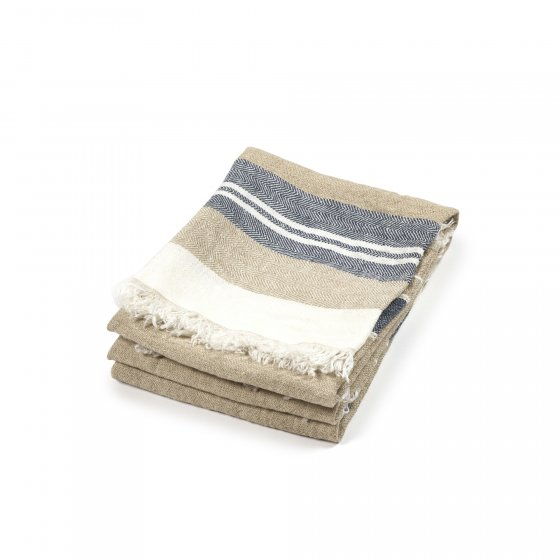 Belgian Towel Small Fouta Bastion Stripe