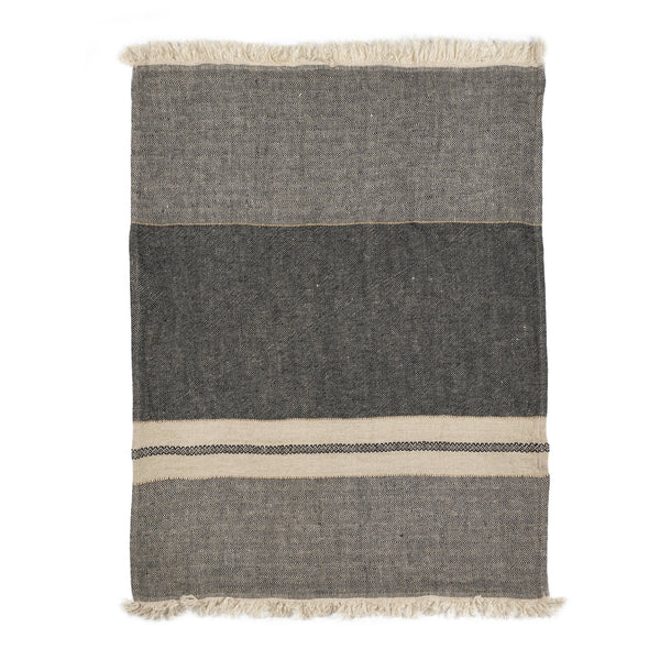 Belgian Towel Small Fouta Tack Stripe