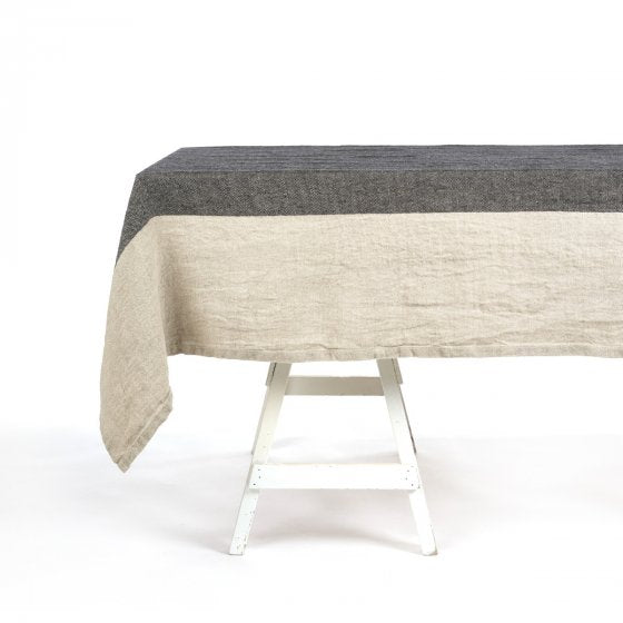 Thompson Tablecloth 170cm x 350cm Herringbone