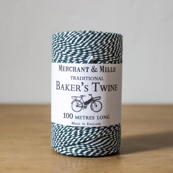 Baker's Twine Dark Green
