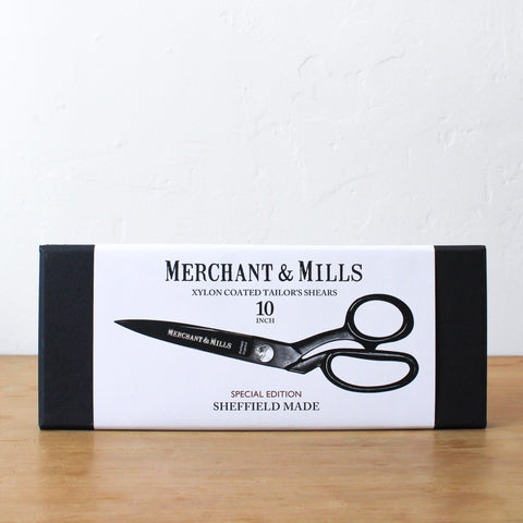 "Matt Black 10"" Tailor's Shears"