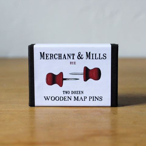 Wooden Map Pins