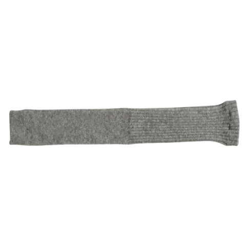 Alpaca Wool Arm and Leg Warmers Light Grey