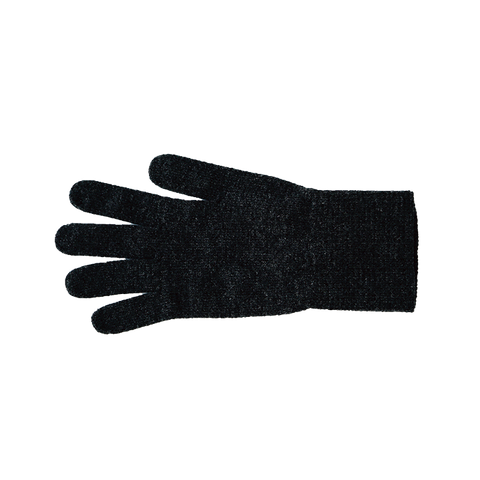 Merino Wool Gloves Charcoal Medium