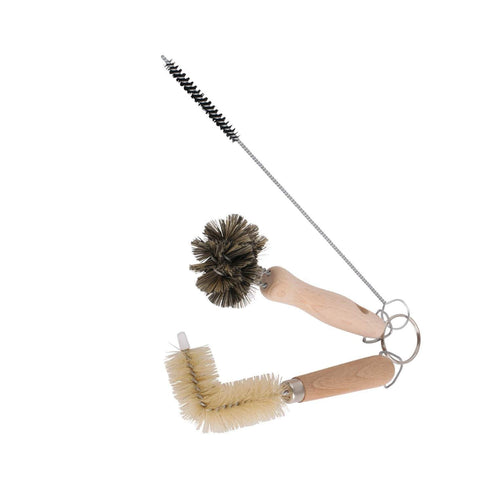 Basin Cleaning Brush Trio Set