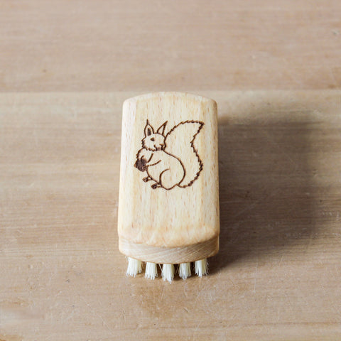 Childrens Nail Brush Squirrel