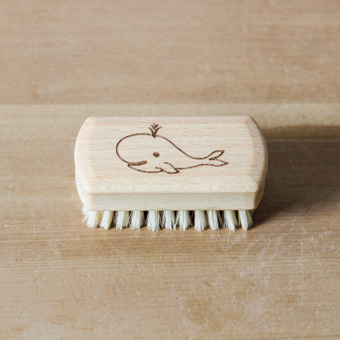 Childrens Whale Nail Brush